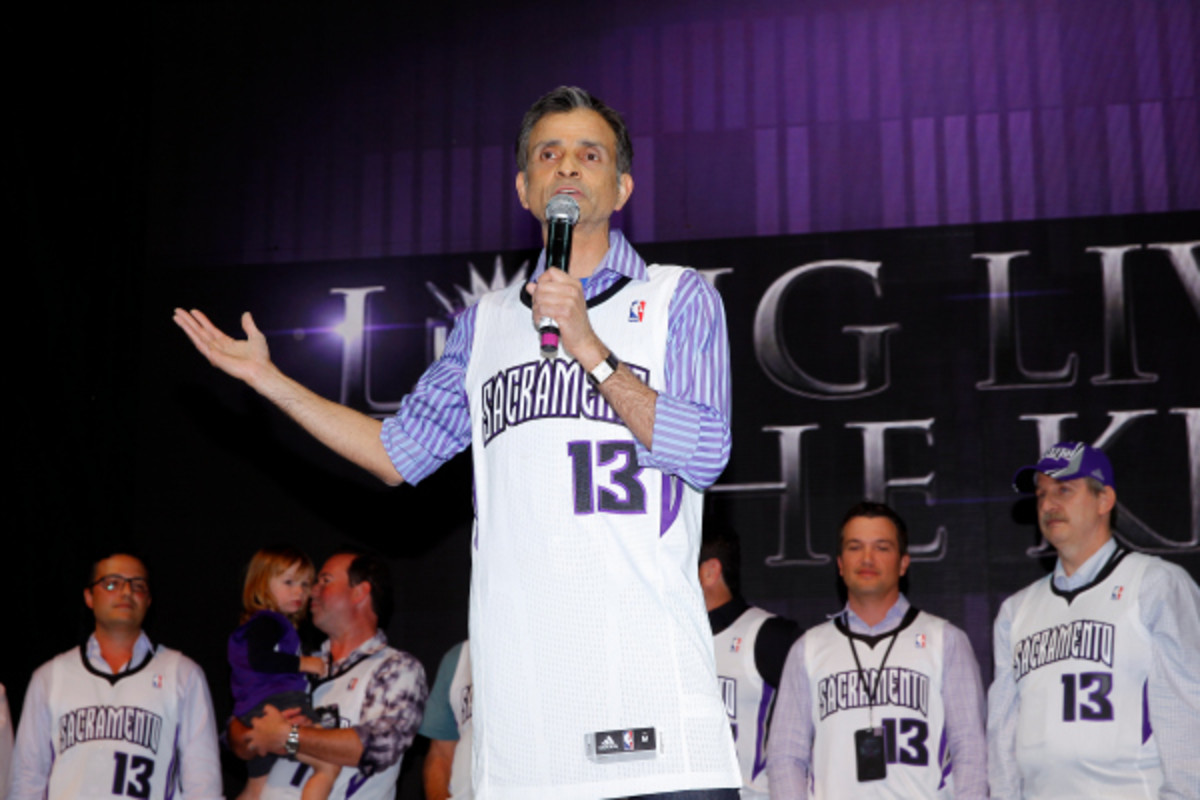 The NBA officially approved the sale of the Sacramento Kings to the ownership group led by Vivek Ranadive (above). (Rocky Widner/Getty Images)