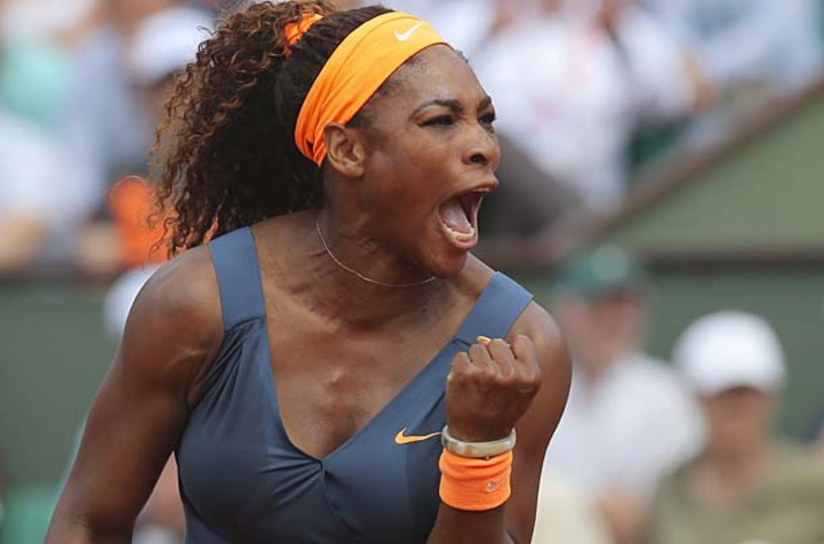 Serena Williams nearly doubled her points advantage in the WTA rankings. (Michel Euler/AP)