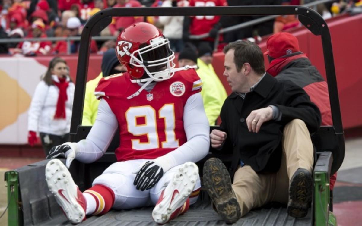 Chiefs DE Tamba Hali (David Eulitt/Kansas City Star/MCT via Getty Images)