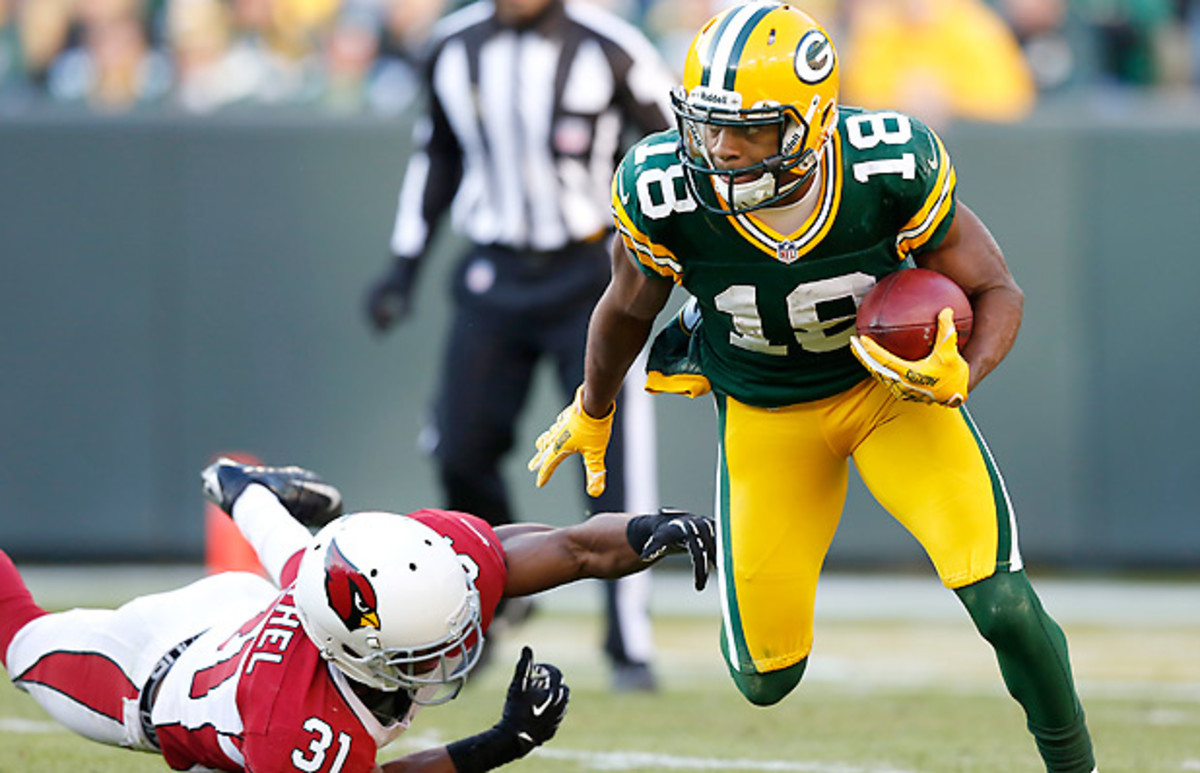 Randall Cobb was one of the breakout stars of 2012. (Tom Lynn/AP)