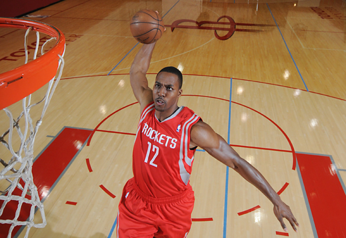 Dwight Howard is likely to make the Rockets a popular choice for national TV games next season.