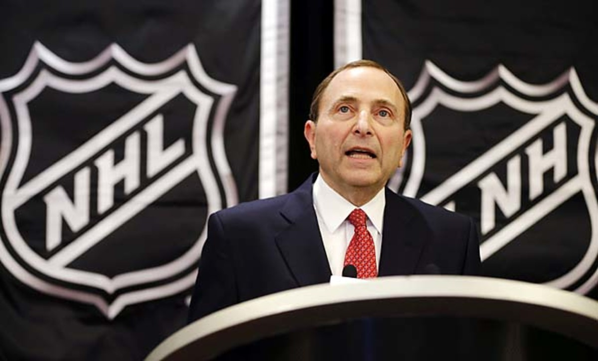 """""""You really have to limit replay to things that are clear, crystal clear,"""" Gary Bettman said."""