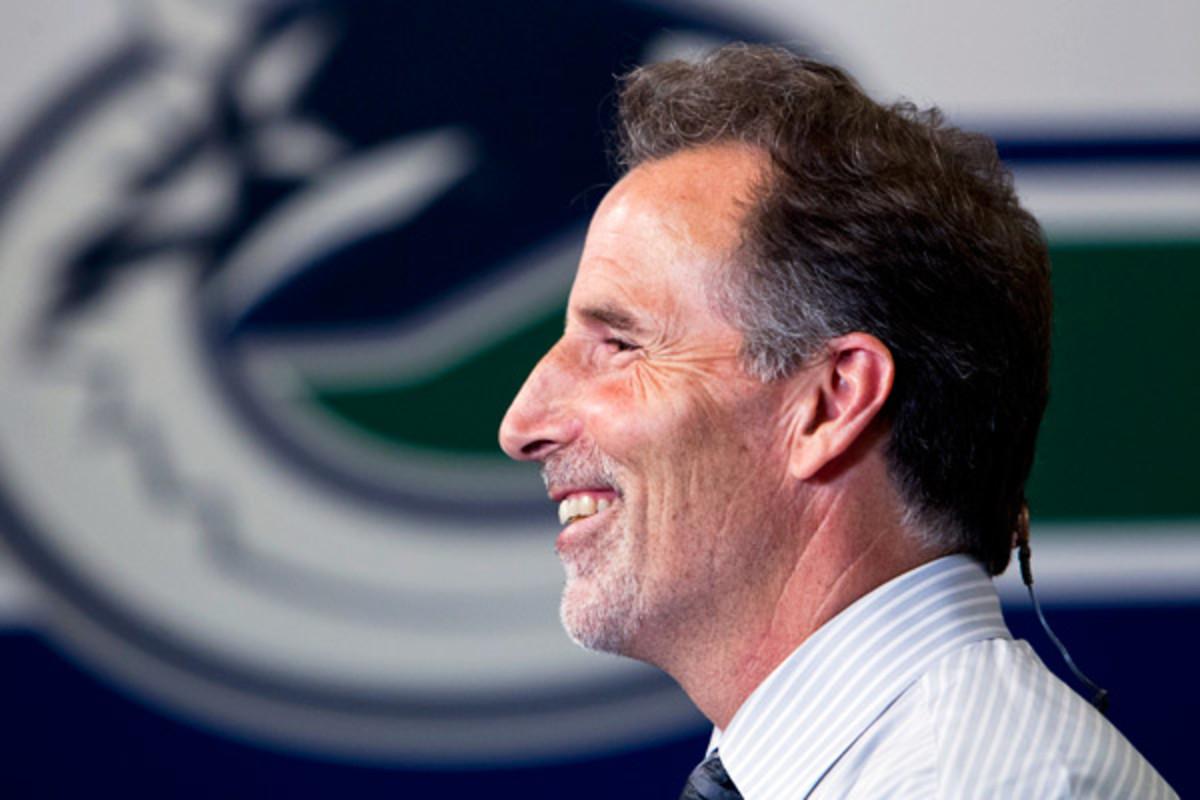 John Tortorella was named the Canucks' new coach in June. (Bob Frid/Icon SMI)