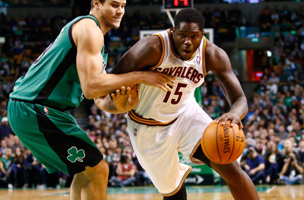 No. 1 pick Anthony Bennett (right) is averaging just 2.2 points per game on 22.4 percent shooting.