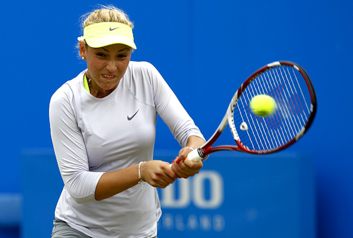 No. 2 seed Donna Vekic beat Nazrin Jafarova 6-1, 6-0 to advance to the second round of the Baku Cup.