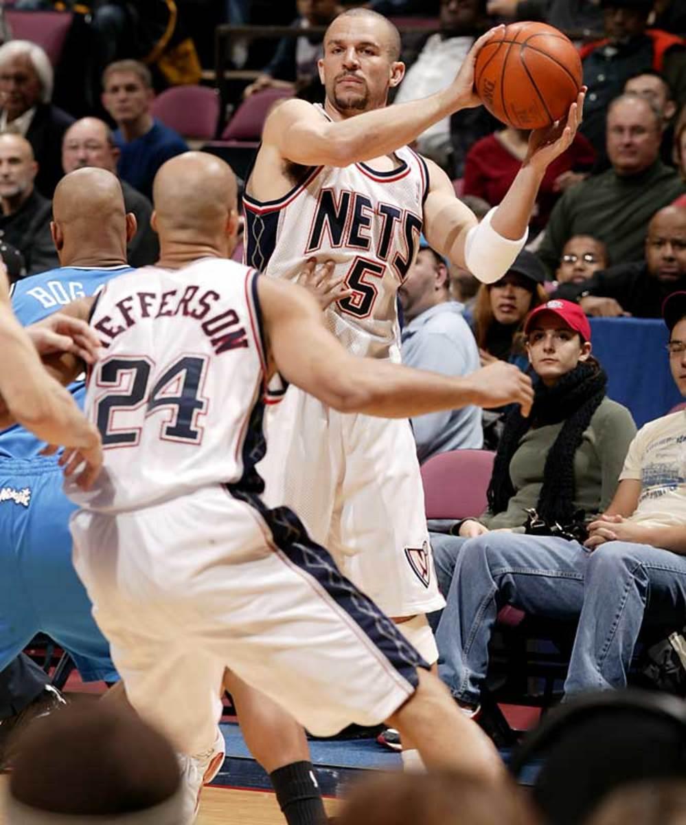 Brooklyn Nets (as New Jersey Nets): 14