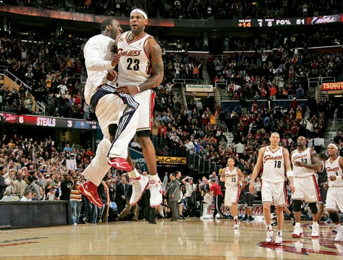 Cleveland Cavaliers: 13