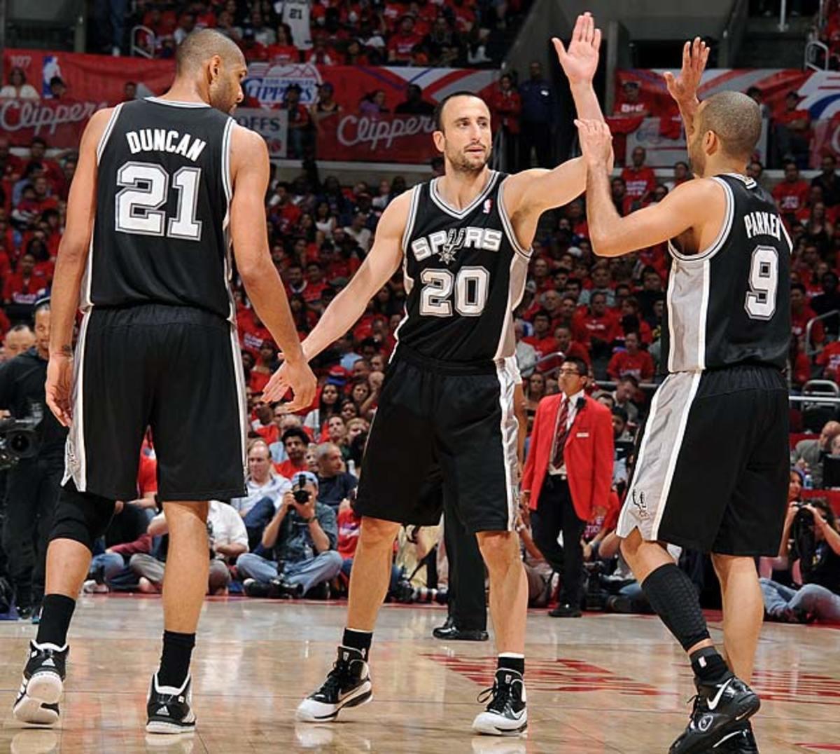 San Antonio Spurs: 20