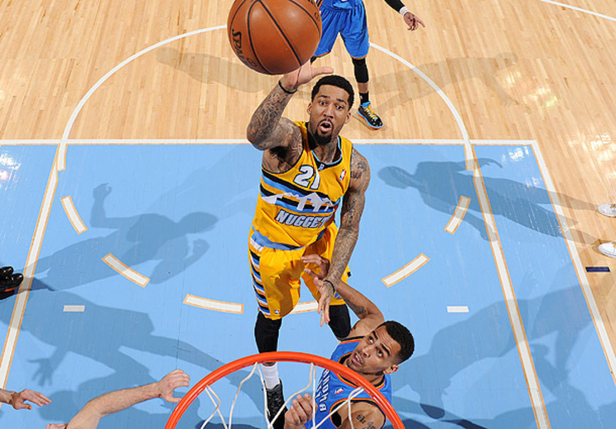 Could Wilson Chandler be moved bu the Nuggets at the deadline?