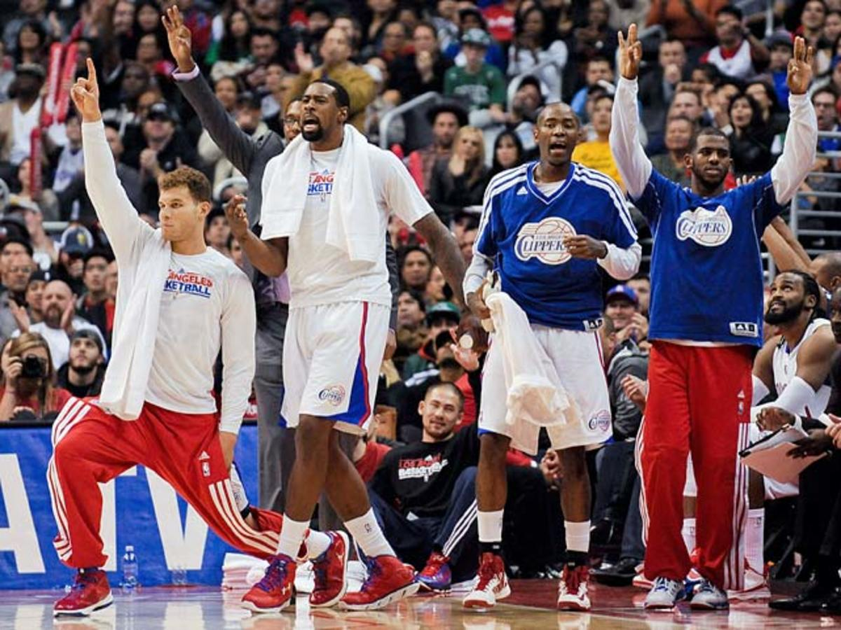 Los Angeles Clippers: 17