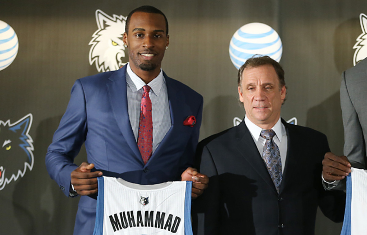 Flip Saunders and the Timberwolves have asked Shabazz Muhammad to become more than a scorer.