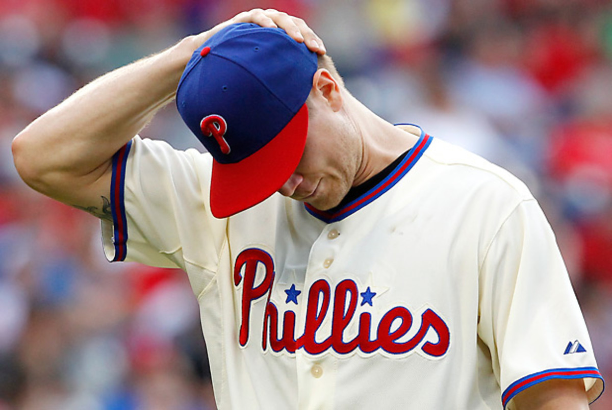 Jonathan Papelbon has had a very rough go of it in June. (Hunter Martin/Getty Images)