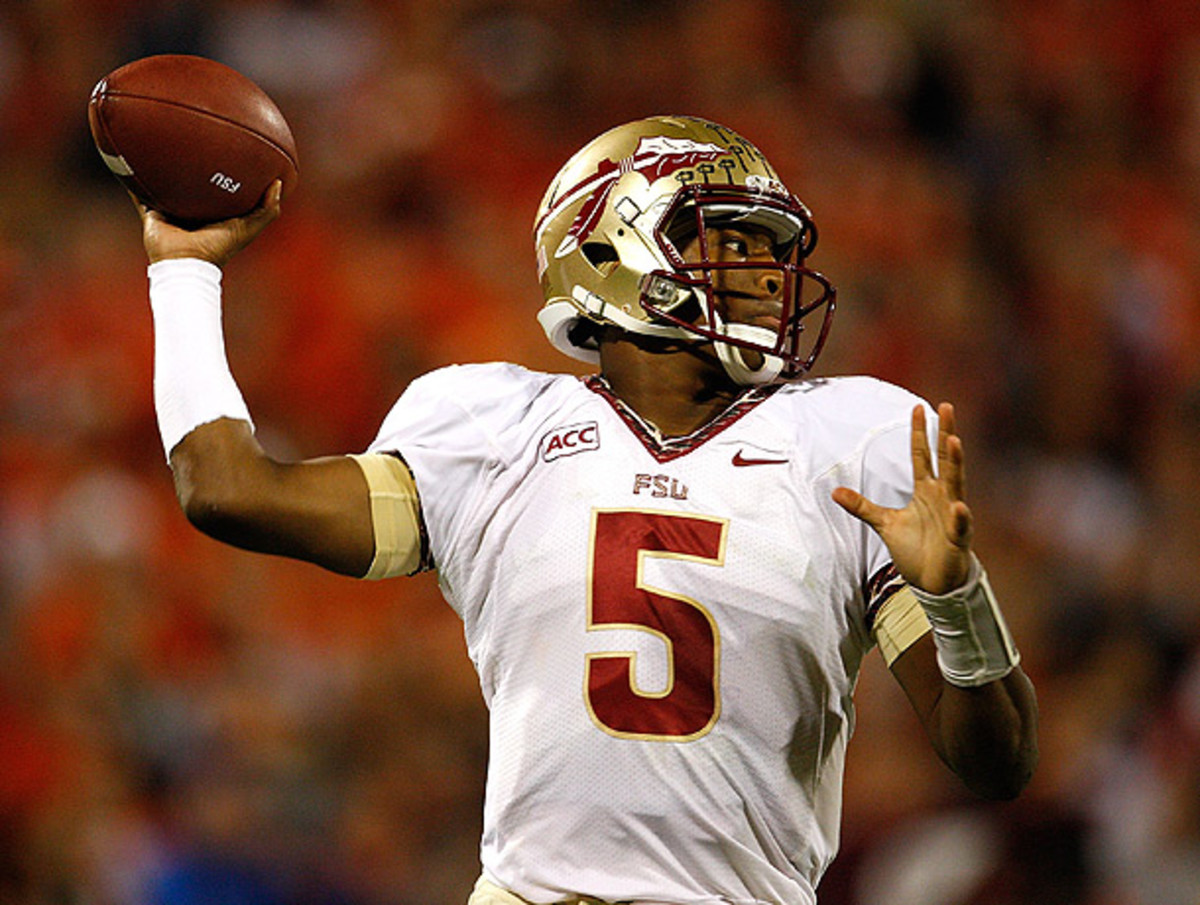 Jameis Winston has lived up to the considerable expectations placed on him before the season began. (Tyler Smith/Getty Images)
