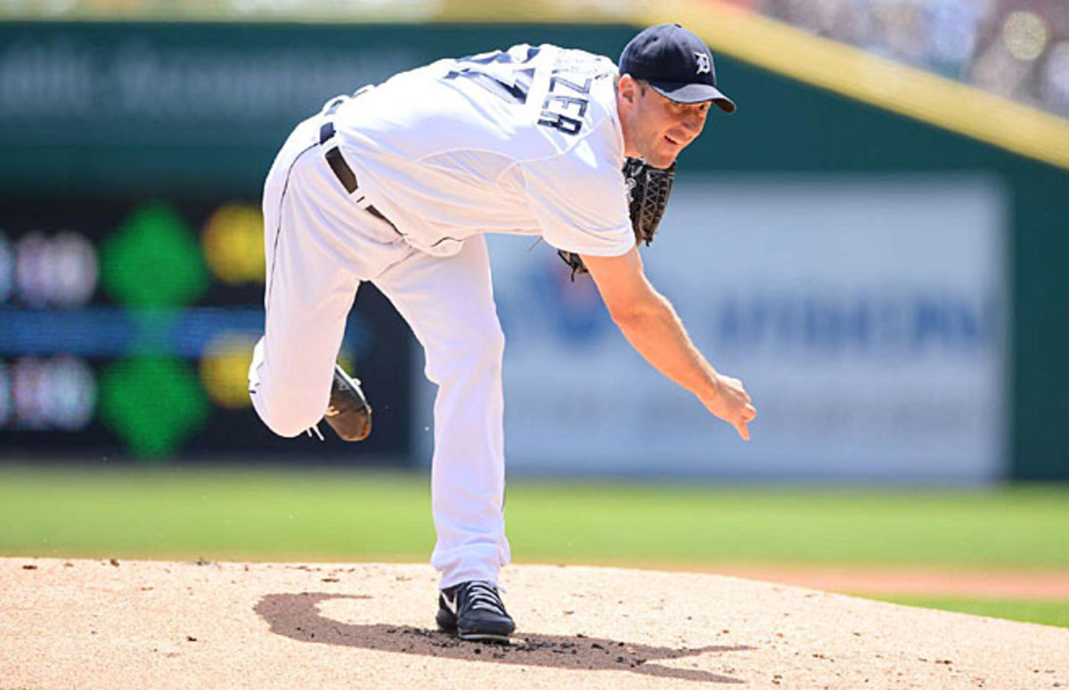 Max Scherzer, who can become a free agent after next season, has helped Detroit win three straight AL Central titles.