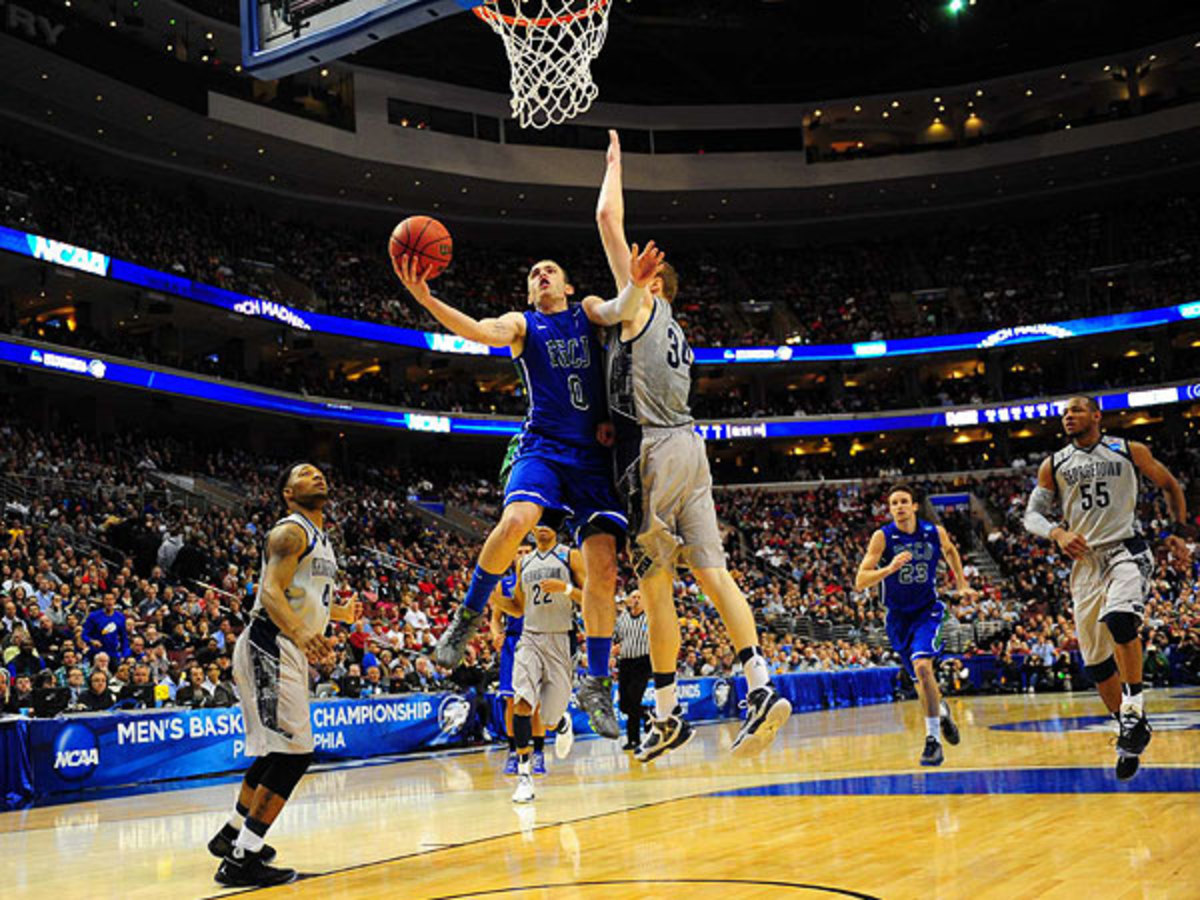 Florida Gulf Coast controlled the pace and ultimately charged past No. 2 Georgetown. (Al Tielemans/SI)