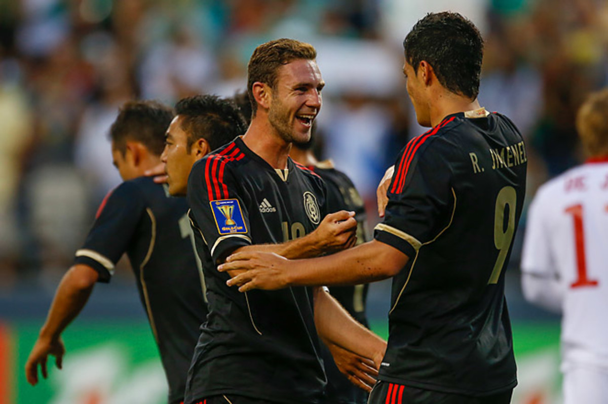 Mexico will play Martinique -- who it's tied at 3 points with -- in the Group A finale.