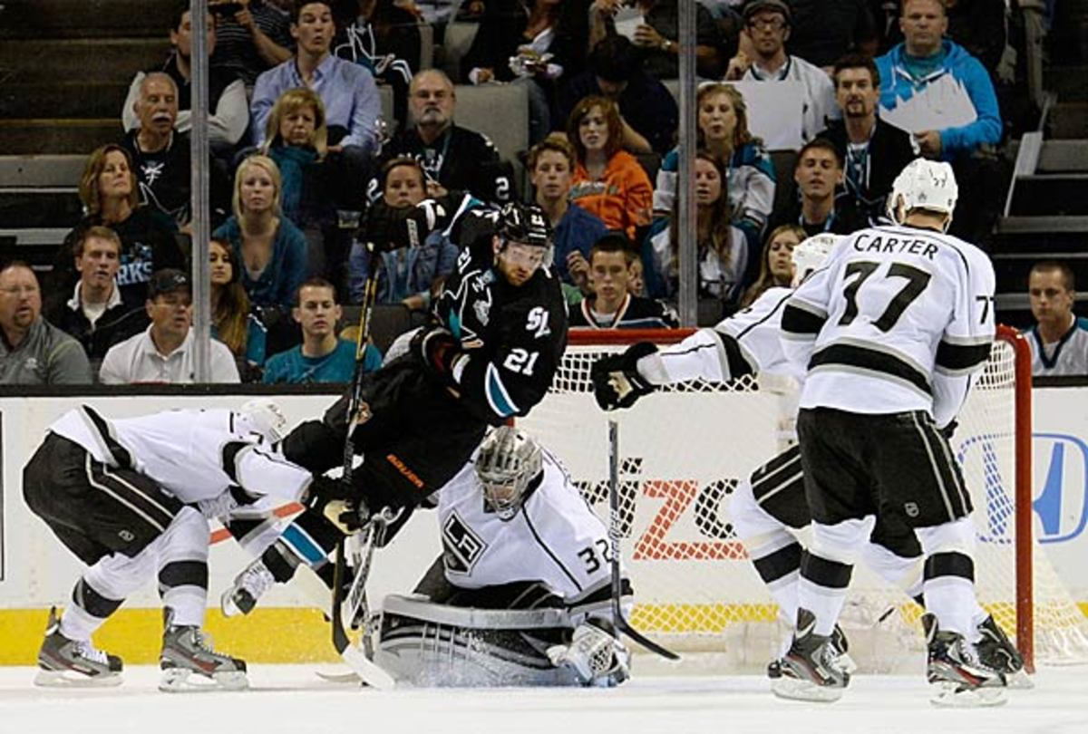 The Kings and Sharks are tied at two games apiece in the second round NHL playoff series