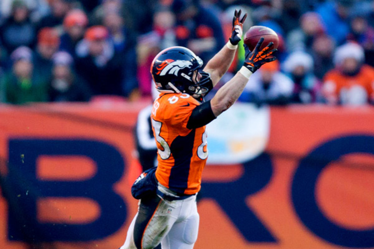 Wes Welker, still recovering from a concussion suffered in Week 14, will be out this week. (Justin Edmonds/Getty Images)