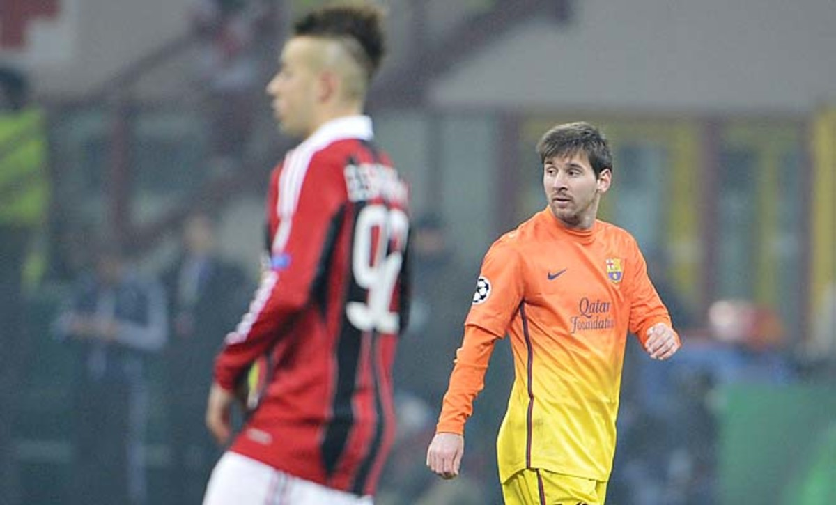 Lionel Messi and Barcelona haven't been eliminated this early in the Champions League since 2007.
