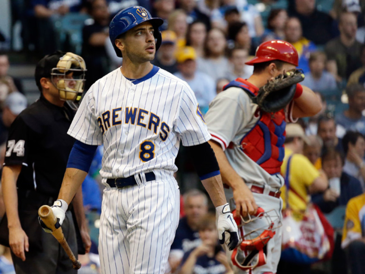Ryan Braun refused to talk to the MLB in June about Biogenesis, now he will sit the rest of the season.