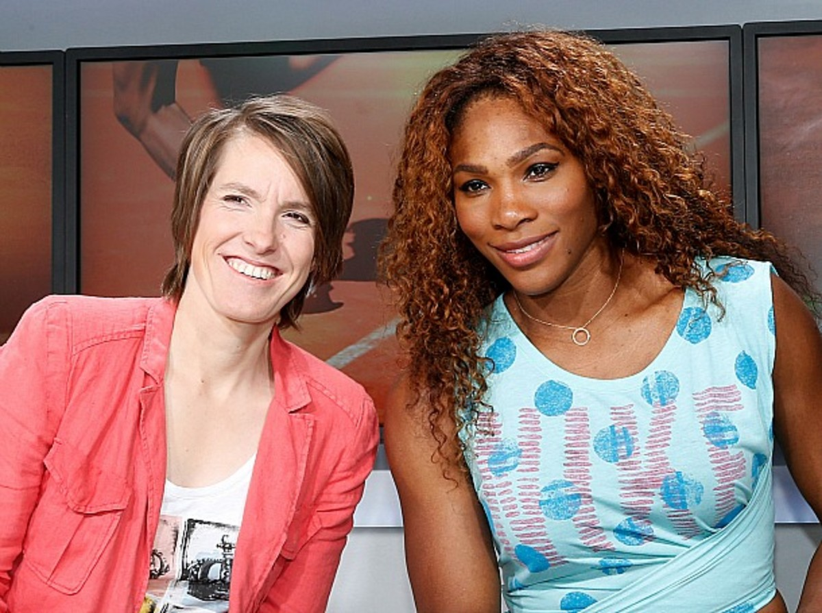 <> at Roland Garros on June 8, 2013 in Paris, France.