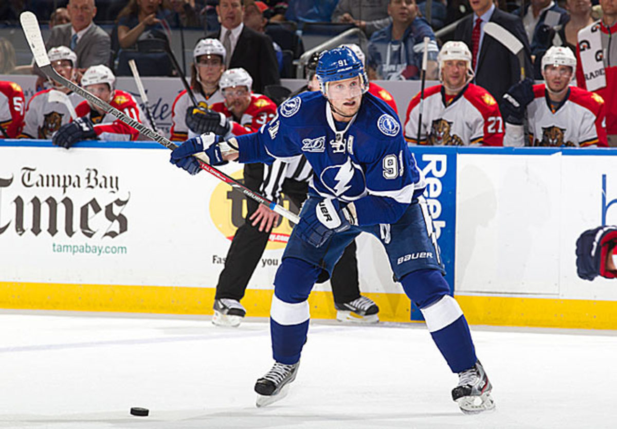Steven Stamkos has learned in recent years that he must rely less on his lethal slapshot.