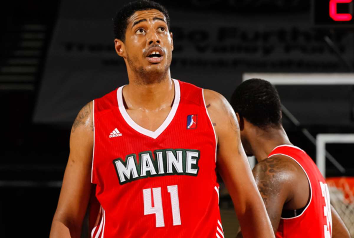 Fab Melo spent much of his rookie season in the D-League with the Maine Red Claws. (Otto Kitsinger/Getty Images)