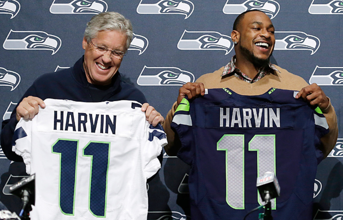 Pete Carroll and the Seahawks signed Percy Harvin with an eye toward a run at the NFC crown.