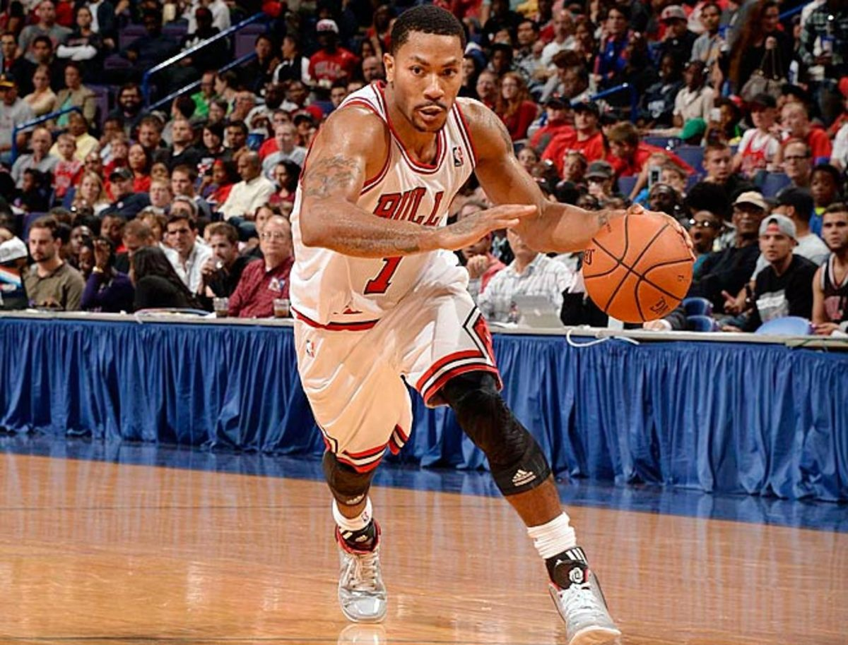 Derrick Rose has made three All-Star teams and won the MVP and Rookie of the Year awards.