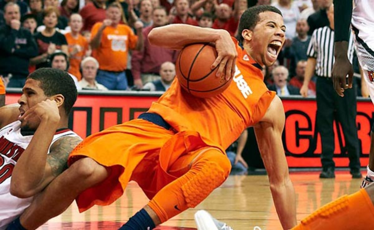 Michael Carter-Williams averaged 11.9 points and 7.3 assists at Syracuse last season.
