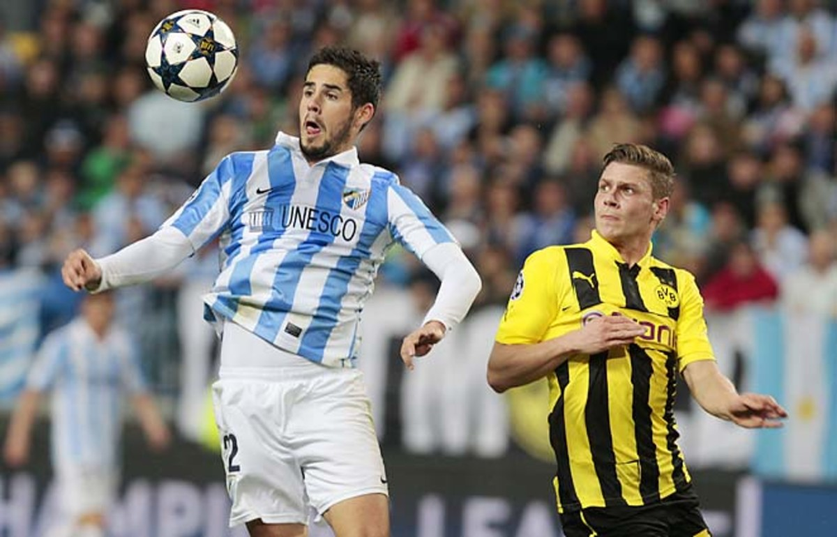 Malaga made it to the semifinals of the Champions League this year before falling to Dortmund.