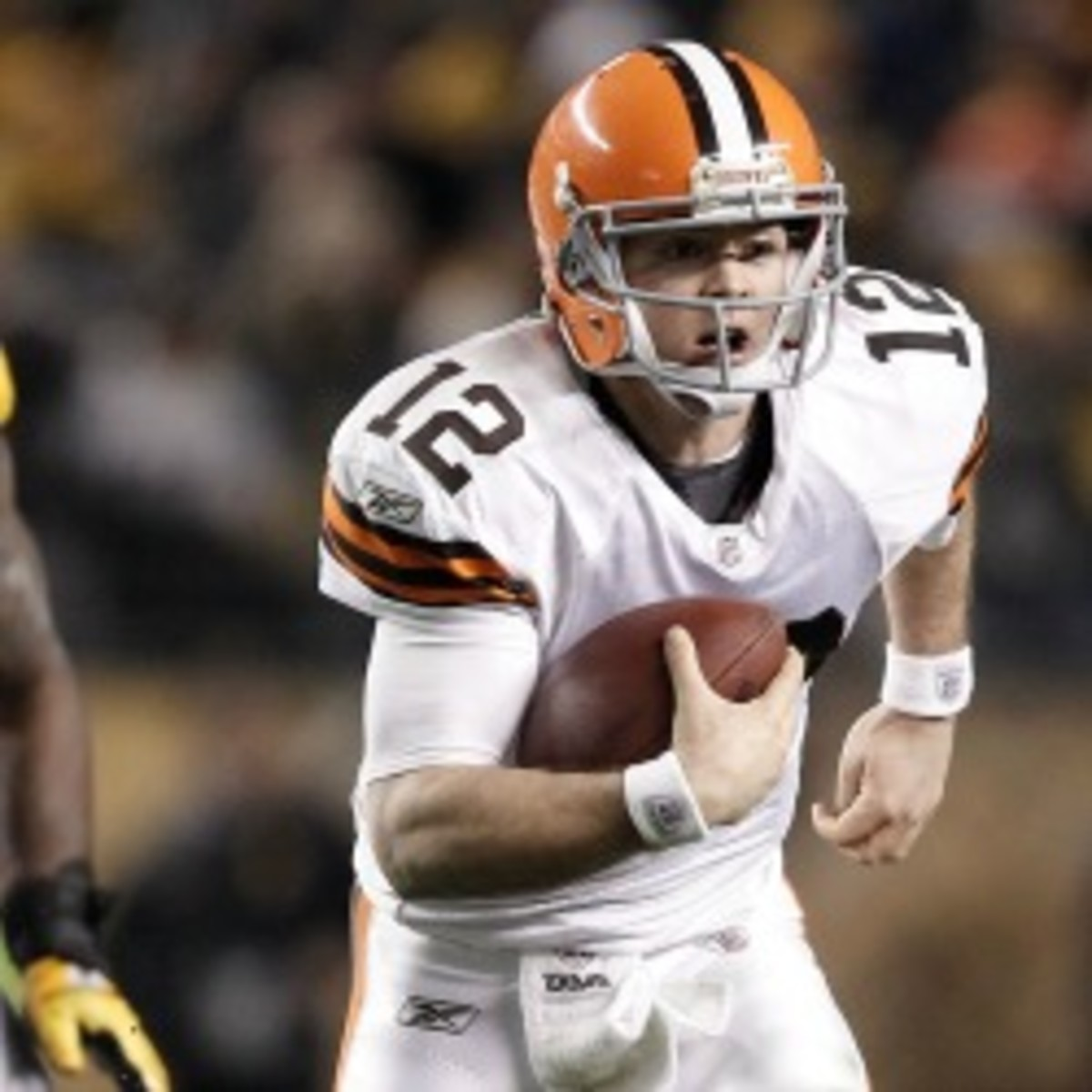 Browns backup quarterback Colt McCoy was traded to the 49ers. (Jared Wickerham/Getty Images)