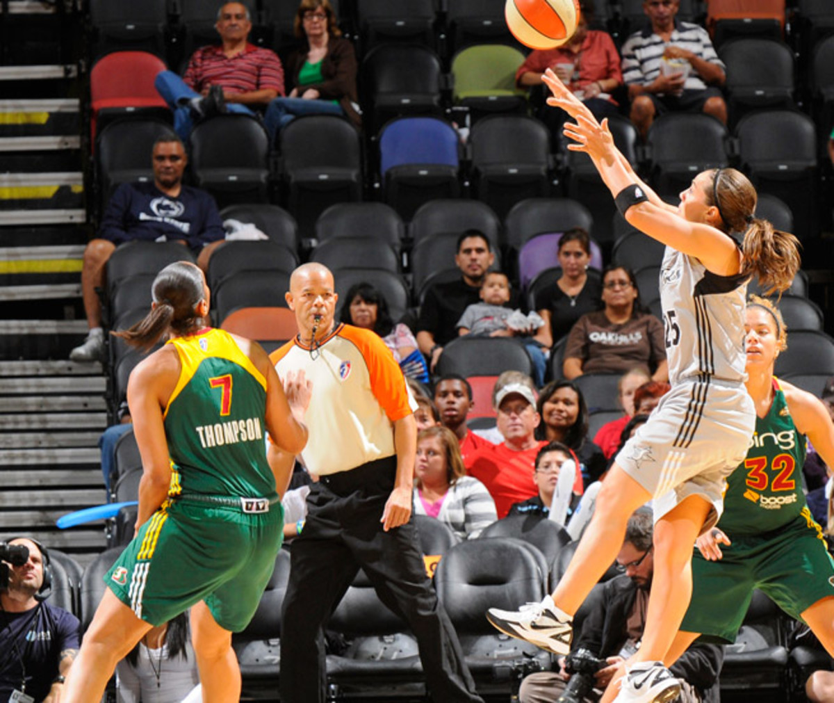 Becky Hammon leads a Silver Stars team that has made the playoffs for six straight seasons.