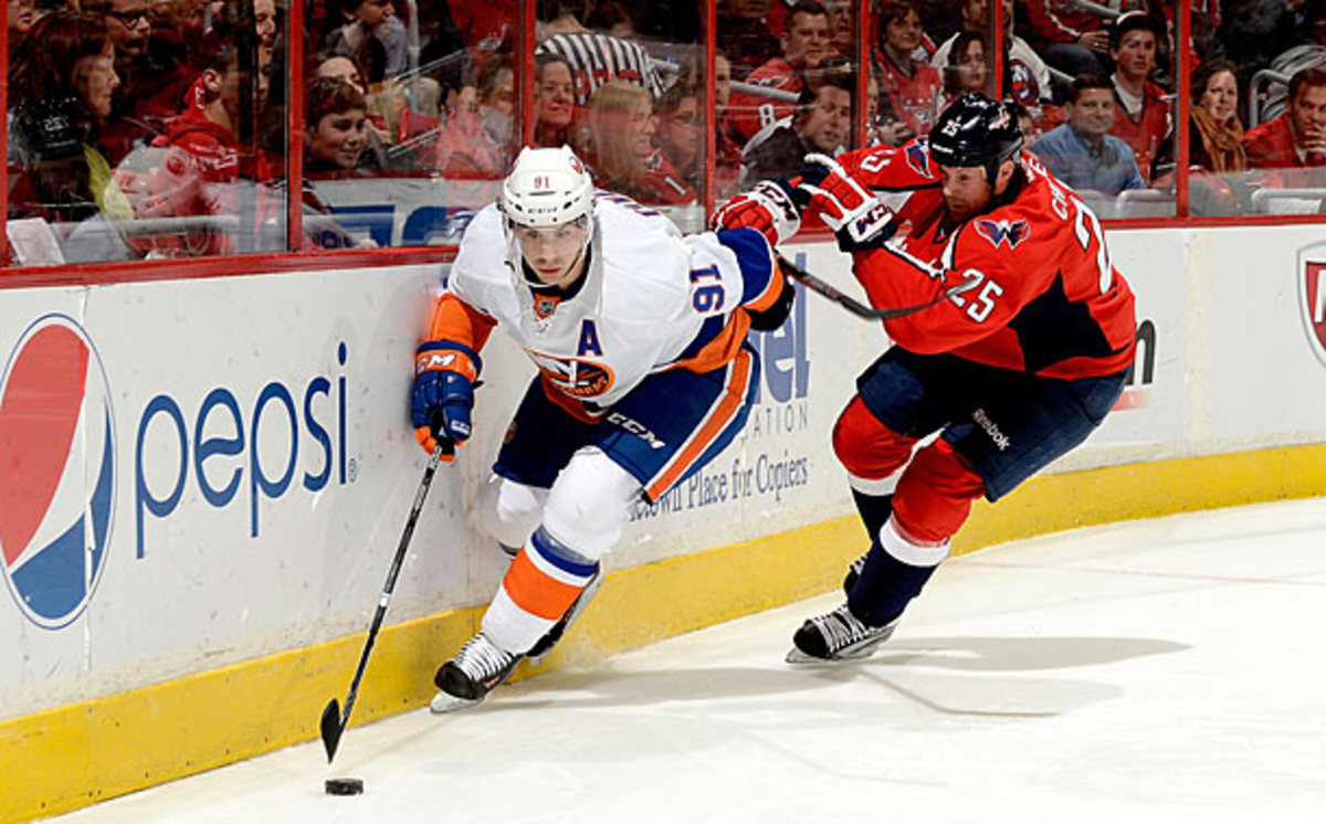 The Islanders and Capitals are in a chase for the eighth playoff spot in the East.