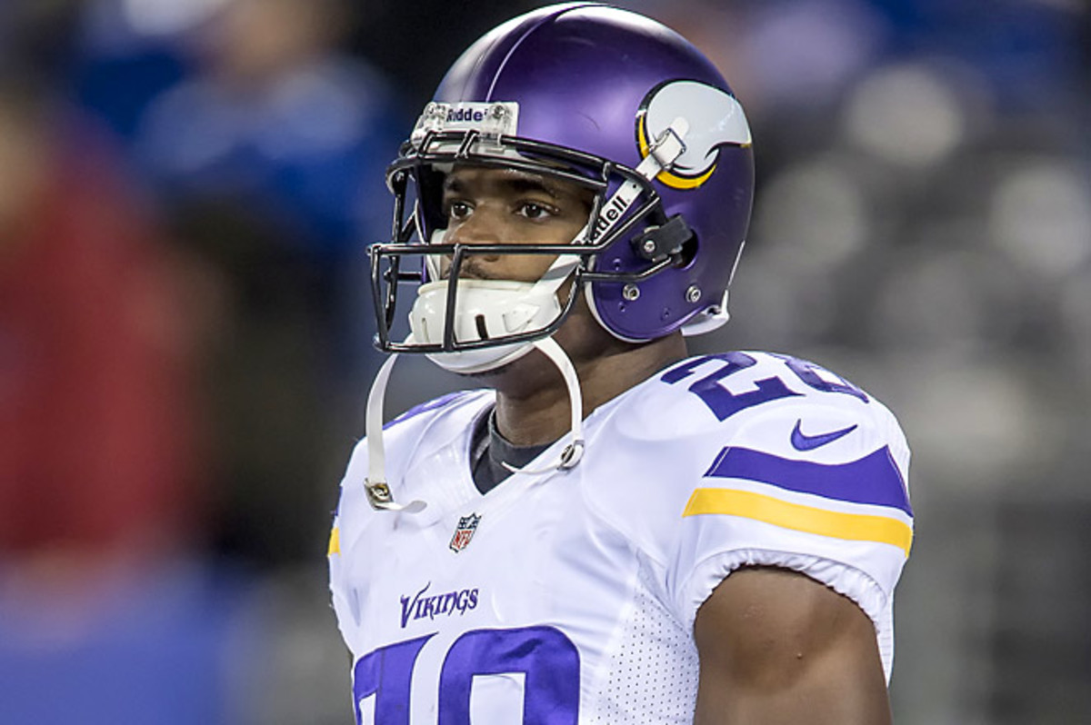 Adrian Peterson's son was two years old when he died due to an alleged abuse by Joseph Patterson. (MSA/Icon SMI)