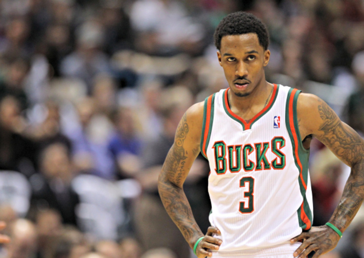 Brandon Jennings has worn a Bucks uniform for the last time. (Mike McGinnis/Getty Images)