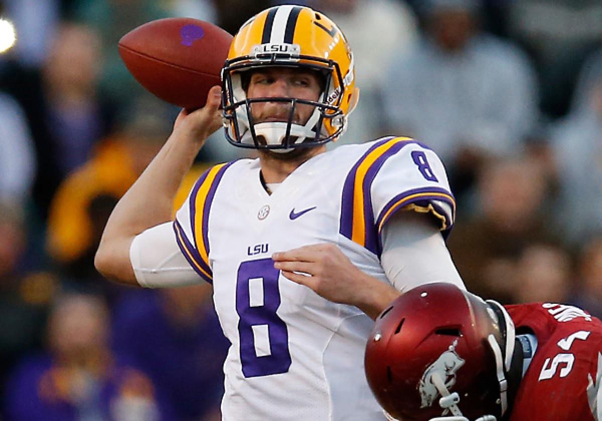LSU quarterback Zach Mettenberger has torn ACL in left knee, will ...
