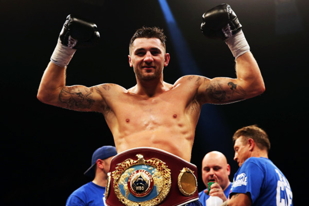 Nathan Cleverly successfully defended his WBO title against Robin Krasniqi in April. (Scott Heavey/Getty Images)