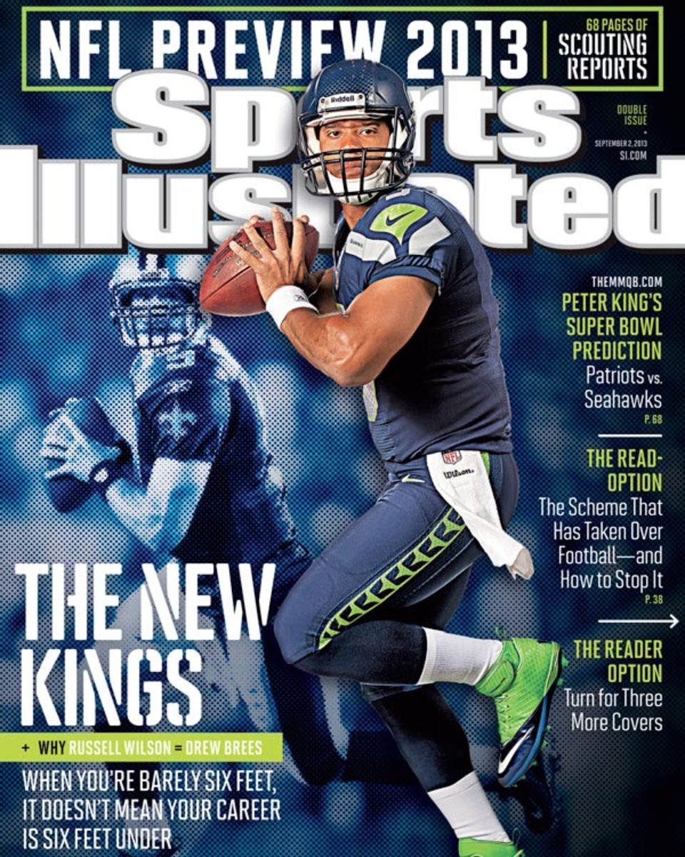 Russell Wilson appears on September 2 cover of Sports Illustrated