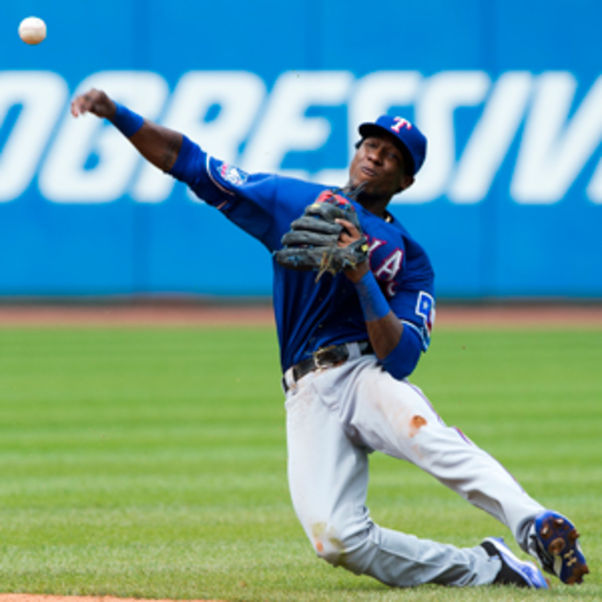 The Rangers want Jurickson Profar to play on a daily basis in teh minors. (Jason Miller/Getty Images)