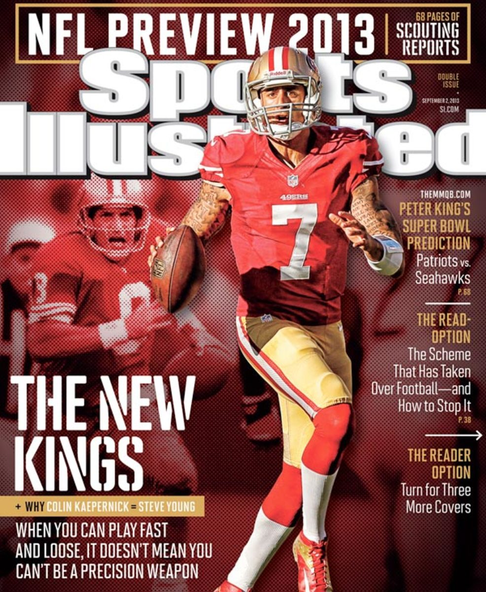 Colin Kaepernick appears on September 2 cover of Sports Illustrated