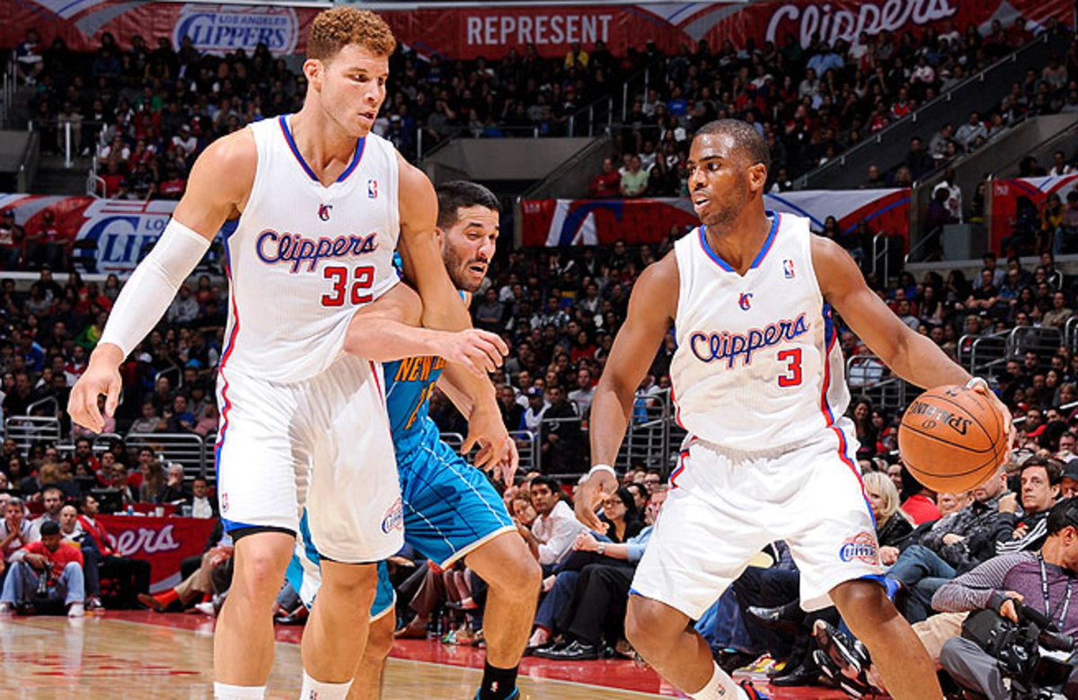 Neither Chris Paul (right) nor Blake Griffin has ever advanced past the second round of the playoffs.