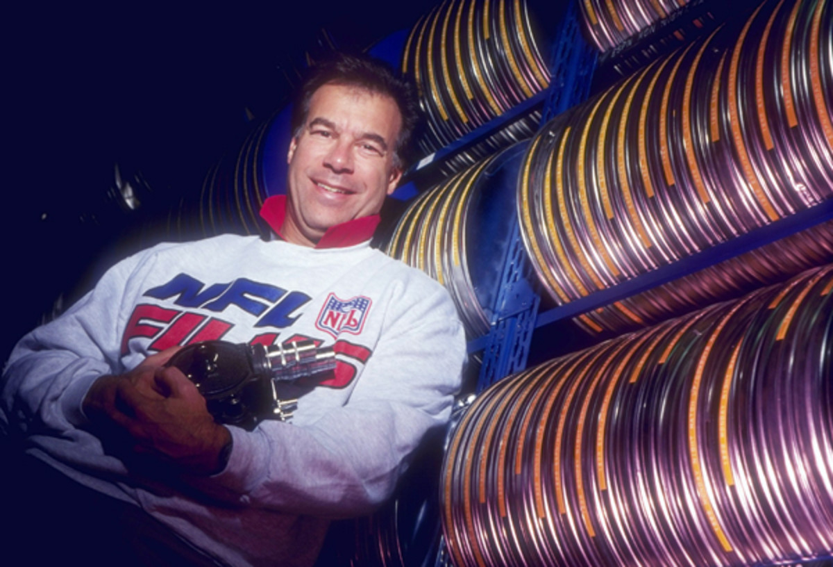 Steve Sabol was -- and is -- the guiding light behind the NFL's narrative. (Scott Halleran/Getty Imaes)