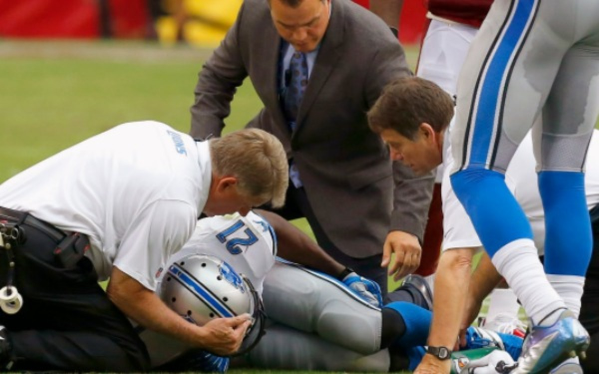 Reggie Bush reportedly has no major issues with the knee he injured on Sunday. (AP Photo/Ross D. Franklin)