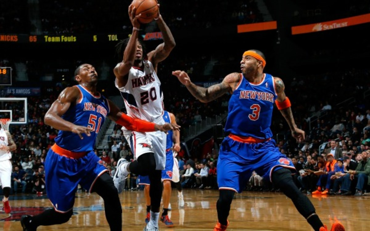 The Knicks' opponents are shooting 46 percent against them this season. (Kevin C. Cox/Getty Images)