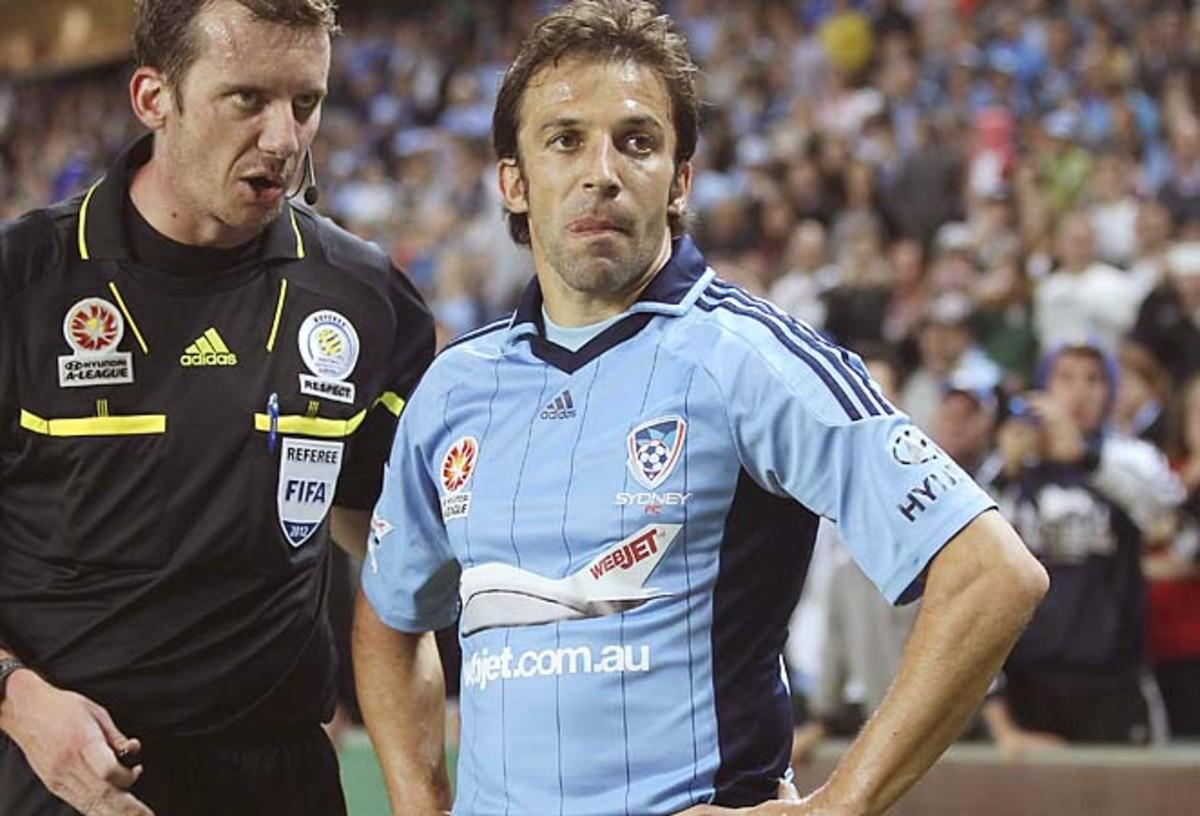 Alessandro Del Piero has been called the David Beckham of the Australian League.