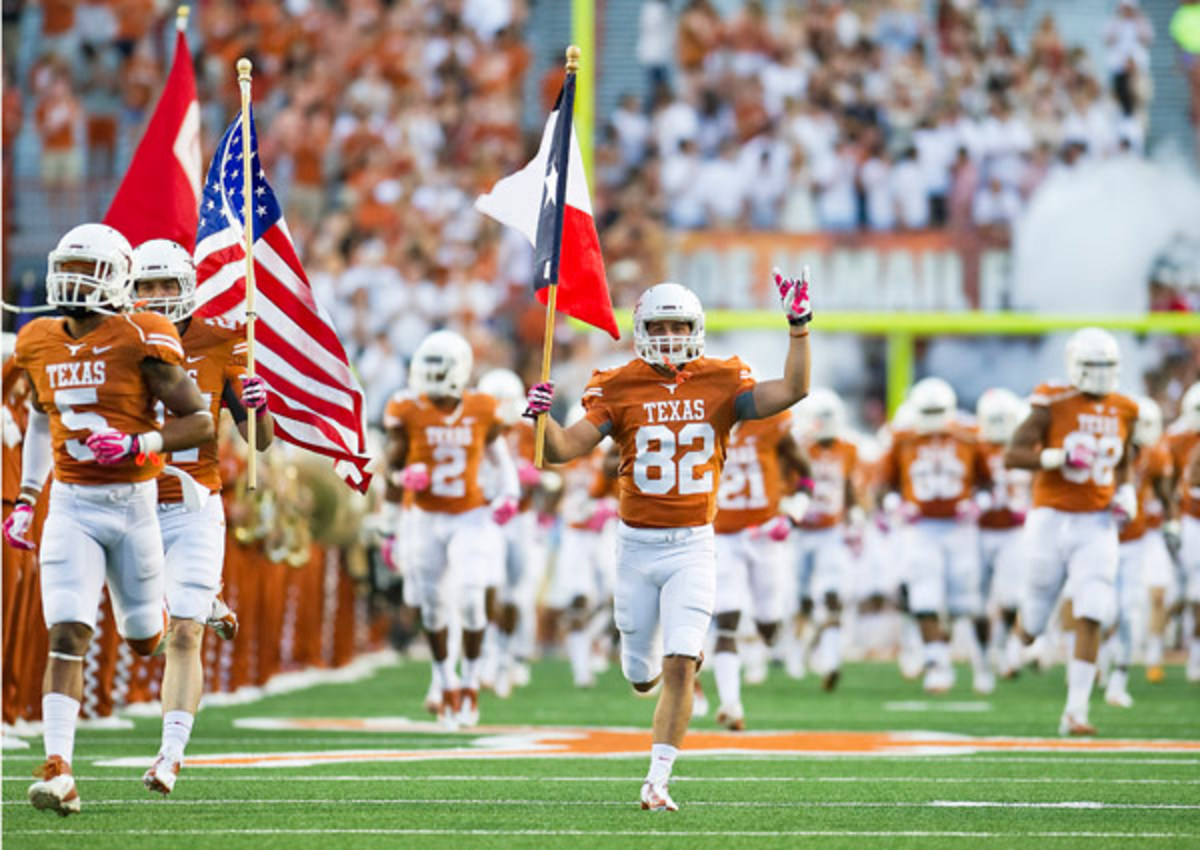 Based on the revenue of the football program, a Texas player is worth more than $500,000.
