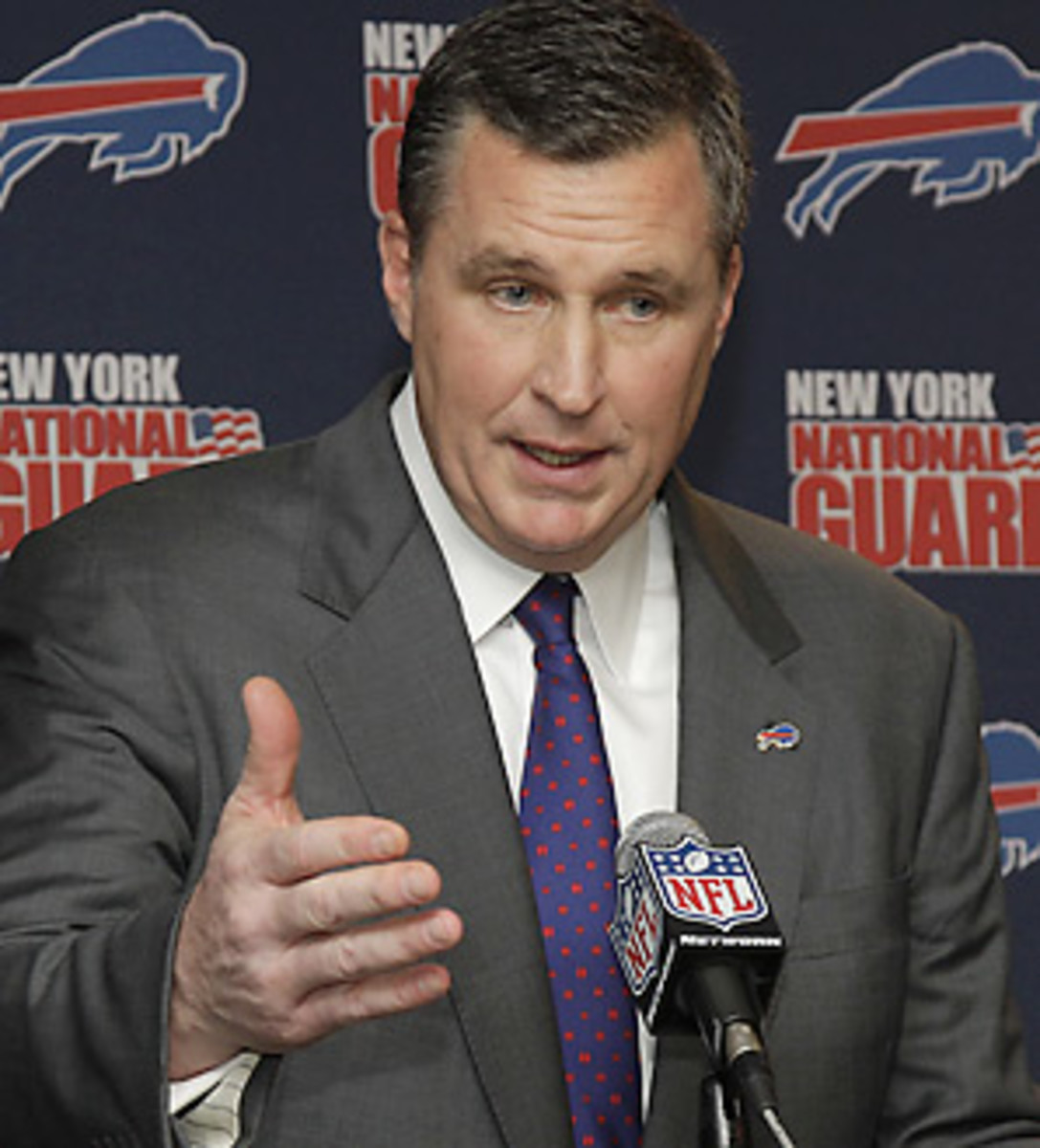 The Buffalo Bills are embarking on a new era with Doug Marrone as coach.