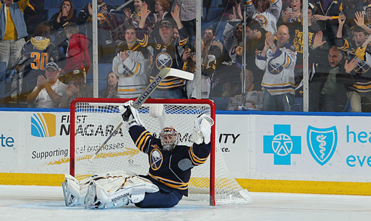 Ryan Miller became the subject of trade rumors while the Sabres failed to make the playoffs.
