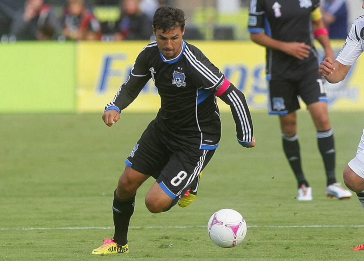 Chris Wondolowski, 30, tied the MLS single-season goal-scoring record last year with 27 goals.